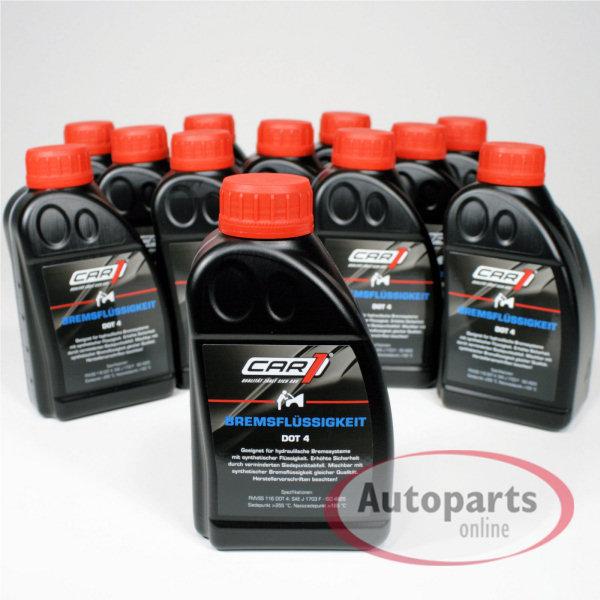 Car1 - 12x Bremsflüssigkeit DOT 4 - 500 ml