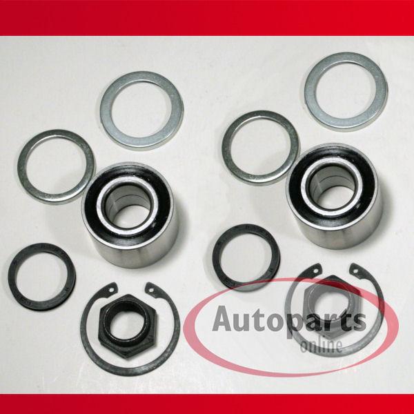 Citroen AX 1,4 GTI - 2 x Radlager / Radlagersatz für hinten / für die Hinterachse