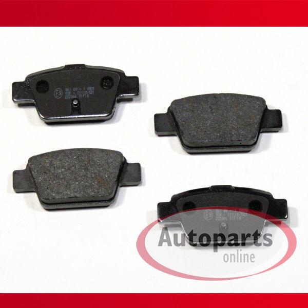 Bremsbeläge Bremsklötze Bremsen für hinten die Hinterachse* Fiat Bravo 2 II