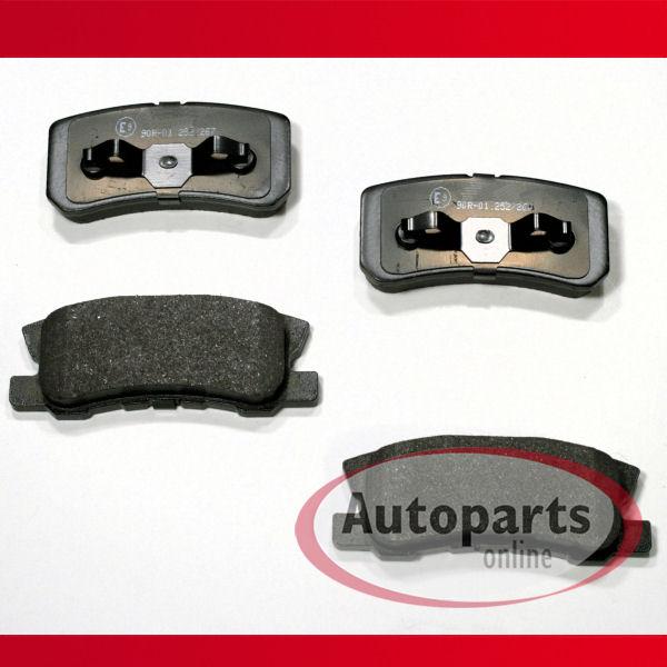 Mitsubishi ASX Bremsbeläge Bremsklötze Bremsen für hinten die Hinterachse