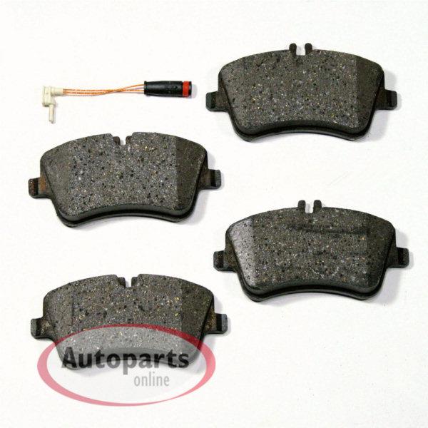 Mercedes CLA Coupe C117 Bremsbeläge Bremsklötze Warnkontakte für hinten