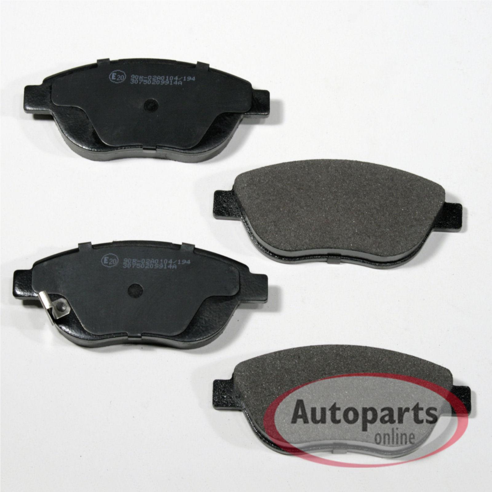 Bremsbeläge Bremsklötze vorne OPEL Corsa D 1.3 CDTI Van