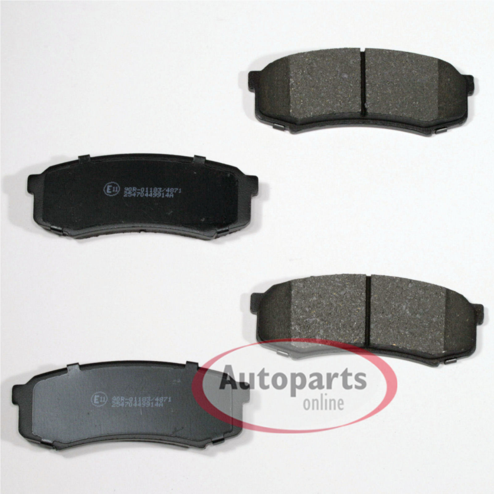 Bremsbeläge Bremsklötze Bremse für hinten Hinterachse* Mitsubishi Pajero IV
