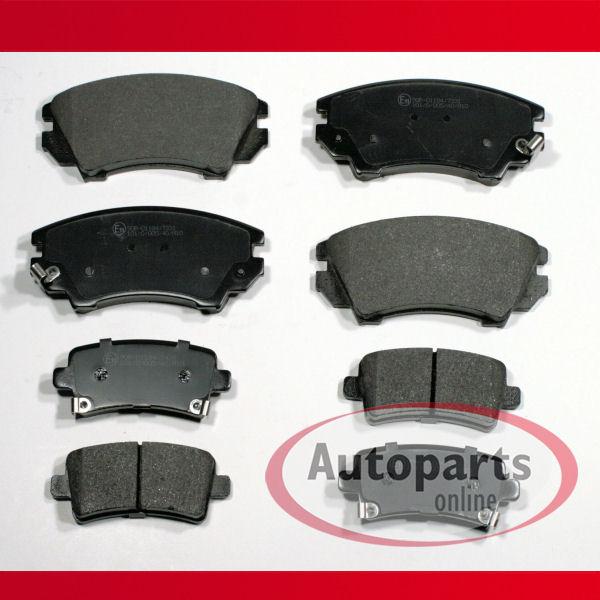 Opel Sintra Bremsbeläge Bremsklötze Bremsen für hinten die Hinterachse