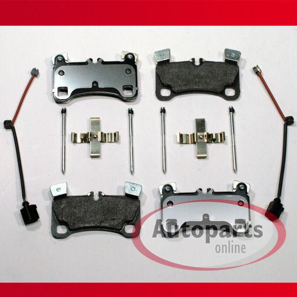 Bremsbeläge Bremsklötze Bremsen Warnkabel für hinten die Hinterachse* Audi Q7