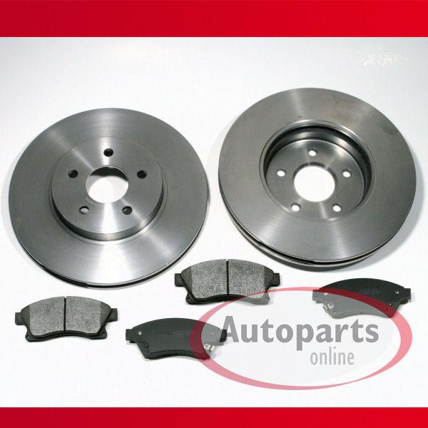 Bremsscheiben und Bremsbeläge  Opel Astra J  Satz vorne mit 15Zoll  Felge