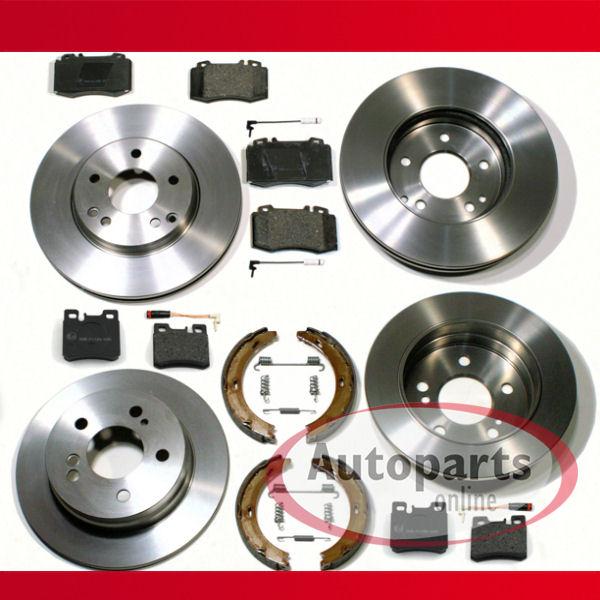 Bremsbeläge Vorne für MERCEDES-BENZ M-KLASSE W163 2 ATE Bremsscheiben 303mm