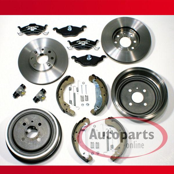 Ford Ka Bremsscheiben Beläge vorne Bremstrommeln Bremsbacken Zubehör hinten