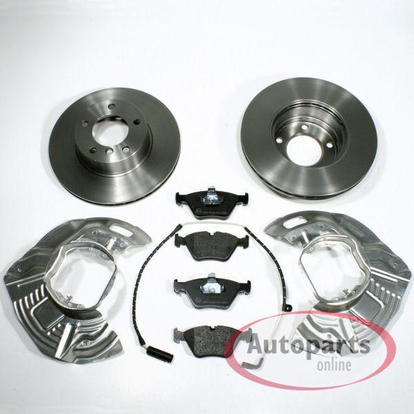 Bremsbel/äge f/ür vorne//die Vorderachse 296 mm Bremsscheiben//Bremsen