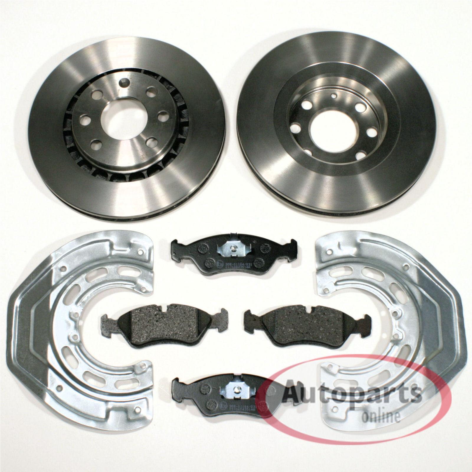 2 Bremsscheiben OPEL Vectra B hinten  Hinterachse Felge 4Loch Durchmesser 270 mm