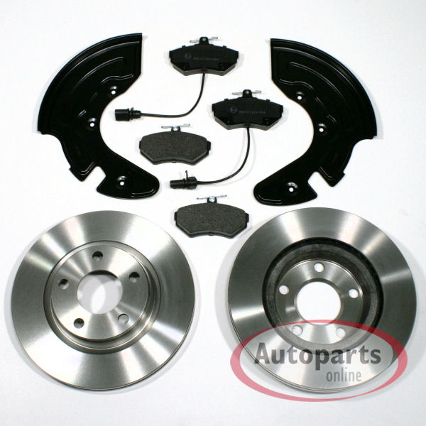 Bremsscheiben Bremsen Bremsbeläge für vorne die Vorderachse Audi A4 b7