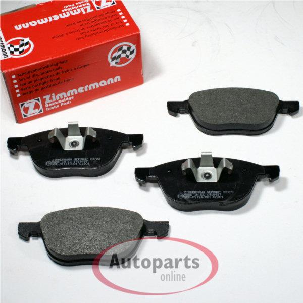 Bremsbeläge Bremsklötze Bremsen für vorne die Vorderachse Ford B-Max