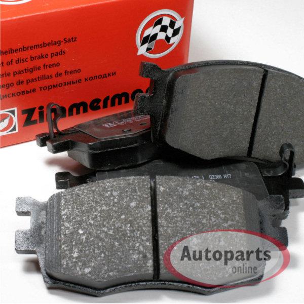 Hyundai i20 PB Zimmermann Bremsbeläge Bremsbacken Handbremse Zubehör hinten
