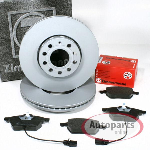 Warnkabel f/ür vorne//die Vorderachse Zimmermann Bremsscheiben /Ø 288 mm Coat Z//Bremsen Bremsbel/äge