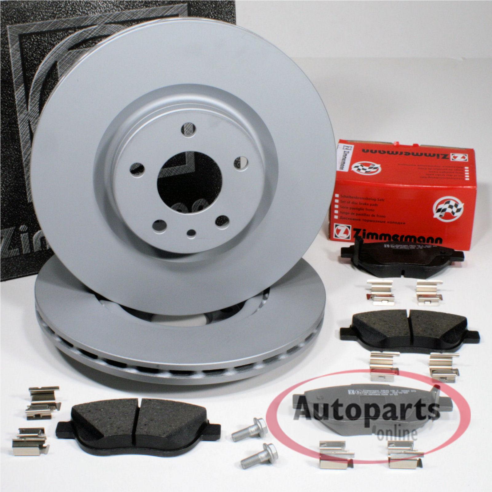 Bremsbeläge vorne Vorderachse Bremsscheiben 284 mm Bremsen Fiat 500L