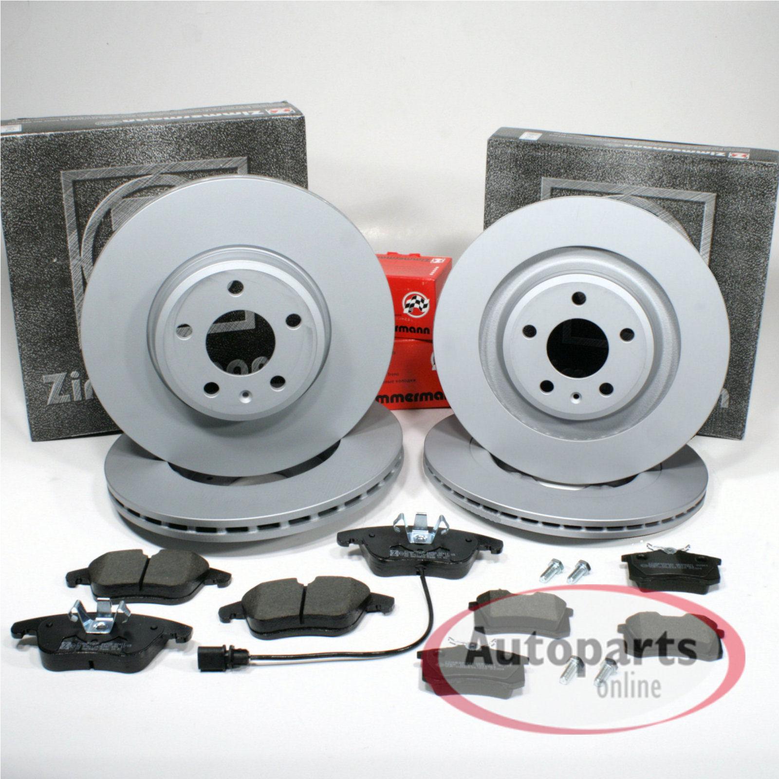 Bremsbel/äge Bremsscheiben Bremsen hinten Handbremsbacken Zubeh/ör f/ür vorne