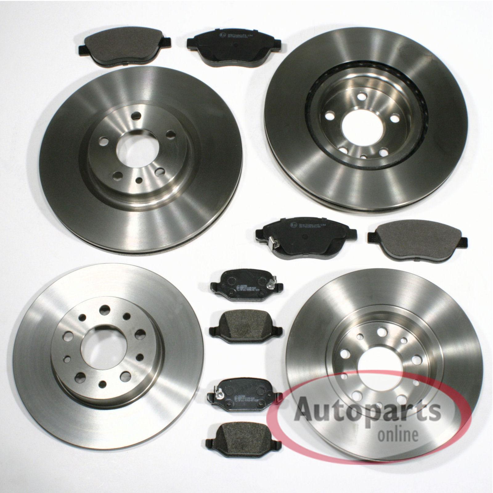 Bremsscheiben Bremsen Bremsbeläge Klötze für hinten Hinterachse Opel Astra J