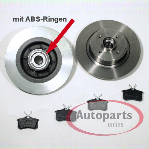 peugeot 308 bremsscheiben bremsen mit radlager abs. Black Bedroom Furniture Sets. Home Design Ideas