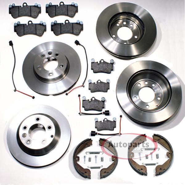 Bremsbel/äge Hinten Autoparts-Online Set 60001507 Bremsen