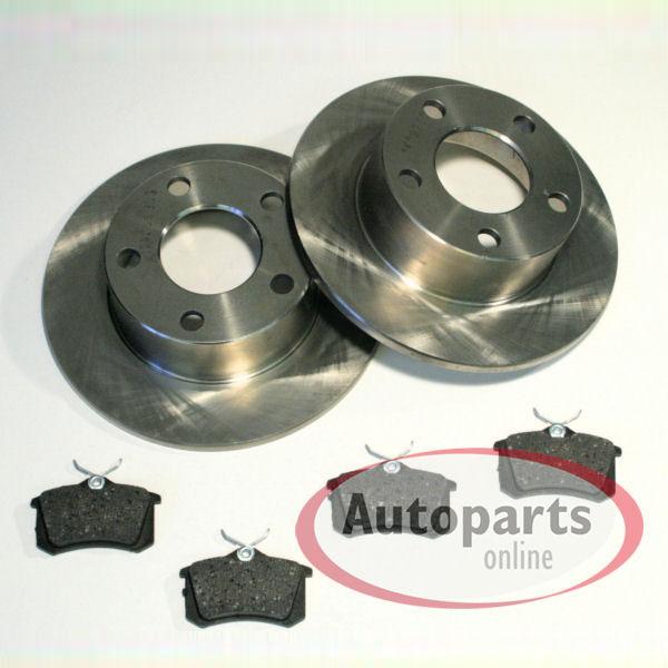 Bremsscheiben 283 mm Bremsen Bremsbel/äge f/ür vorne die Vorderachse