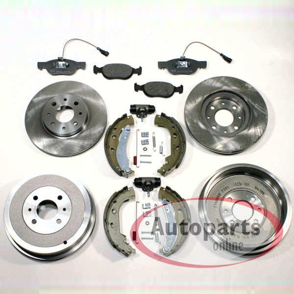 Bremsscheiben Beläge vorne Bremstrommeln Bremsbacken Zubehör hinten Fiat 500 C